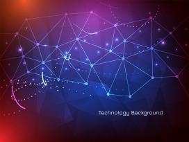 现代菱形交叉线网络技术素材下载