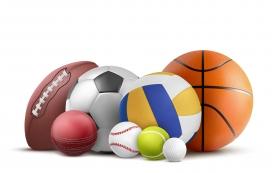 篮球足球球类素材下载