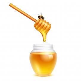 蜂蜜棒与蜂蜜
