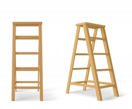 木质楼梯素材