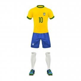 足球运动员球衣素材