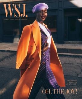 米凯尔·詹森《华尔街日报》-充满活力色彩的都帮派时装秀