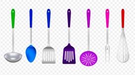 彩色的烹饪厨具PNG素材