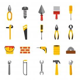 装修工工具素材图