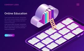 在线教育概念EPS素材下载
