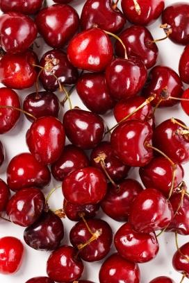 新鲜的车厘子樱桃果子