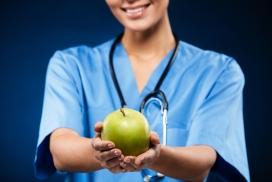给你青色苹果的蓝衣护士