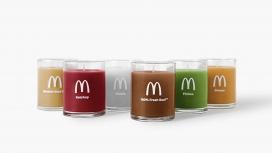 麦当劳发布四分之一的磅蜡烛套装