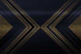 黄金亮片左右箭头背景图素材