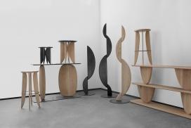 乔尔·埃斯卡洛纳的雕塑家具系列