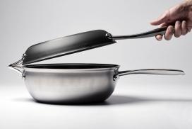 旨在仅用几块就可以烹饪世界美食的锅