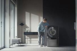 """有了新""""角度""""独具一格的洗衣机"""