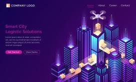 未来物流智能城市