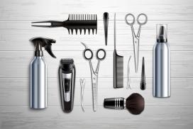 理发师的武器工具