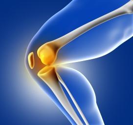 膝盖骨折受伤的图
