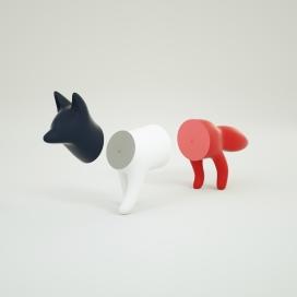 一个独特的有趣玩具-磁性狐狸玩具