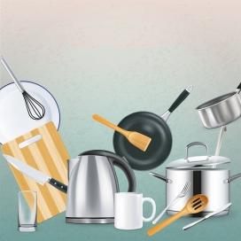 厨房烹饪用品素材下载