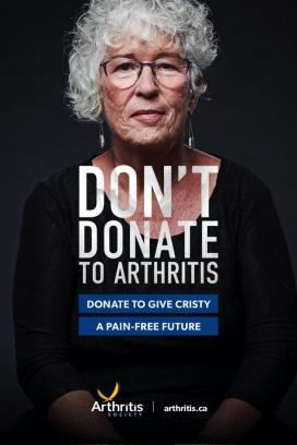 Arthritis Society关节炎学会平面广告