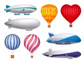 飞船气球素材