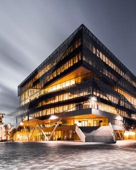 City Hall Nieuwegein-荷兰乌得勒支新市政厅