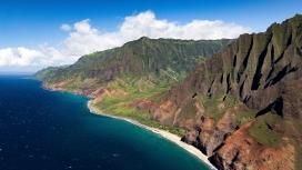 壮观的海岸线风景线