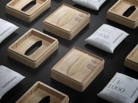 可以作为纸巾盒重复使用的三仙岛大米