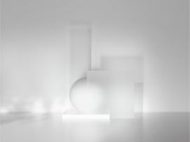 雕塑照明物体