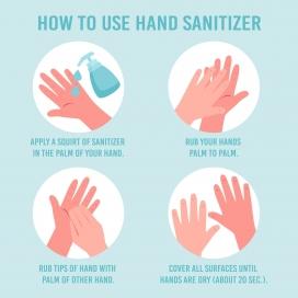 讲卫生洗手宣传海报素材