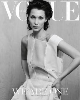 贝拉·哈迪德-Vogue杂志希腊