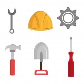 装修工人的工具素材