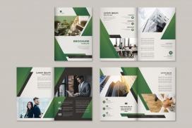 现代企业宣传册模板素材下载