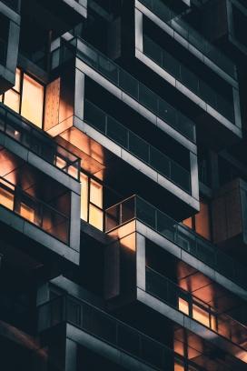 质感的外凸飘窗阳台