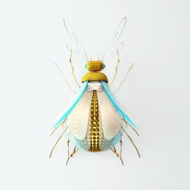 金丝弹簧虫系列