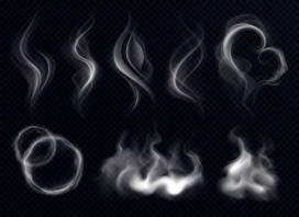 烟雾造型素材图