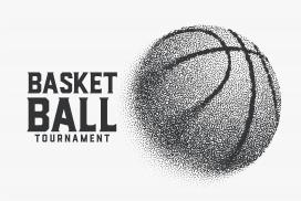 颗粒篮球广告海报素材