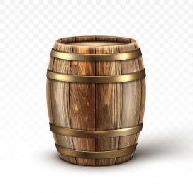 木质酒桶素材