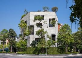 越南风景秀丽的混凝土别墅