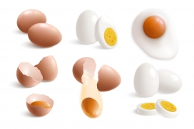 鸡蛋素材图