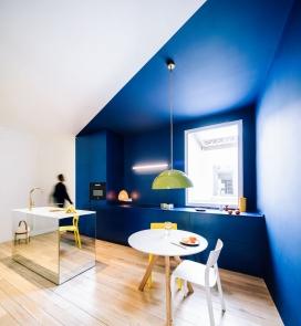 马德里124平方米的公寓