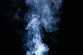 蓝色青烟图