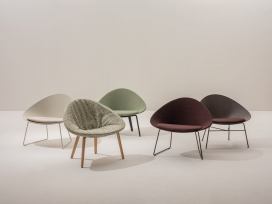 Adell-用于商业或住宅空间的室内/室外休闲椅