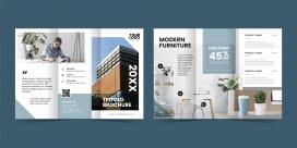 家居产品企业宣传册画册设计素材