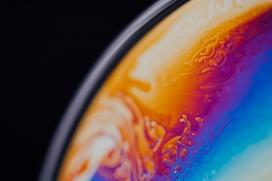 液态纹理的地球