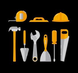 装修工人工具素材