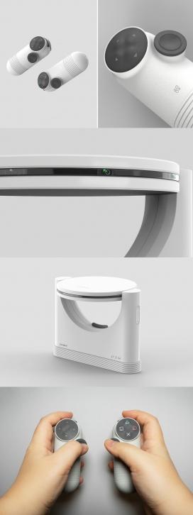使用投影技术将游戏带入您房间身临其境的游戏机