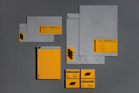 Mix Code-品牌手册设计
