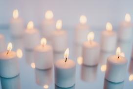 温柔的烛光