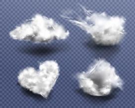 白色云层素材