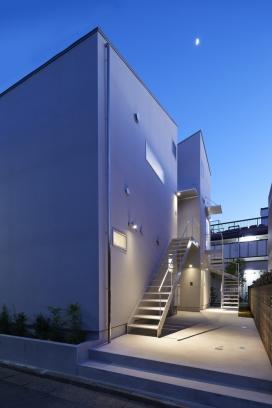 日本东京272平米的天空露台公寓