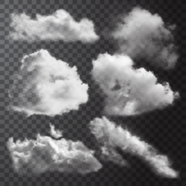 白色乌云素材下载